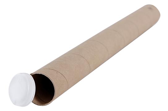 large diameter cardboard tubes